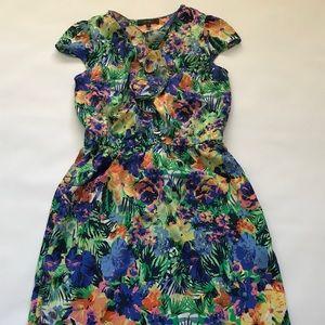 Jessica Simpson Hawaiian floral print dress size M